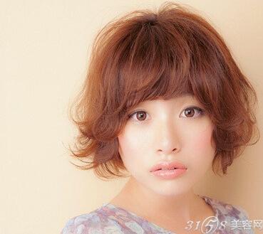 发量少适合什么短发?图片