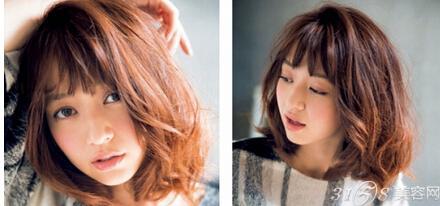 一次性卷发比永久型的卷发发型更具时尚感,这款蓬松的短卷发,空气感