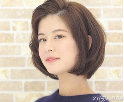 圆脸女生瘦脸发型大短发也驾驭最强-v圆脸a曼儿图片