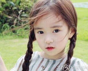 用这些方式为你的小孩子扎头发,美出新高度. 小女孩长头发怎么扎好看?图片