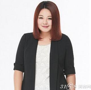 女胖子适合什么样的发型图片