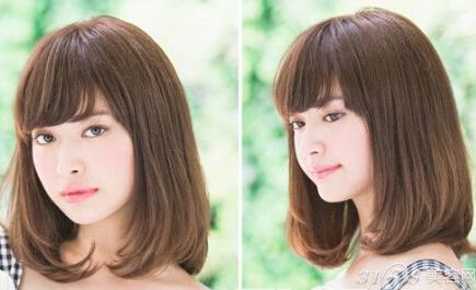 女生染什么颜色头发好看?图片