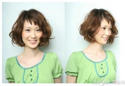 圆脸矮个子适合什么发型?图片