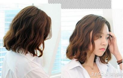 短发蛋卷头韩版烫发 时尚甜美又显脸小图片