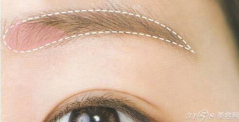 根据眉型画眉毛 四种眉形的画法教程图片