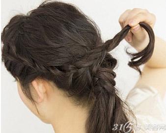 韩式低马尾怎么扎?韩式低马尾发型扎法