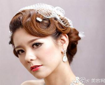 2017流行新娘发型图片大全 结婚什么发型好看?