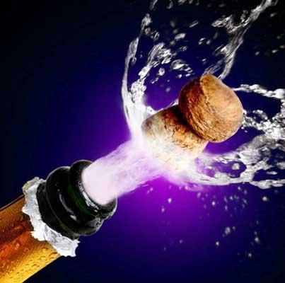 起泡葡萄酒的开瓶方法及禁忌