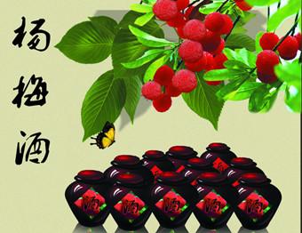 杨梅酒的制作方法