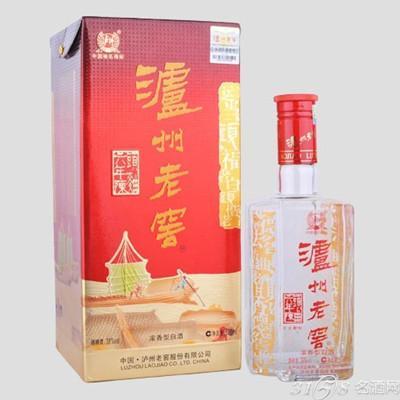 中国白酒泸州老窖年份酒价格表参考