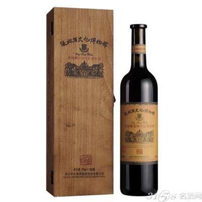 中国张裕解百纳优选级干红葡萄酒价格