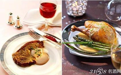 2014春节菜谱:喝红酒配什么菜?   清淡的红酒适宜搭配的食