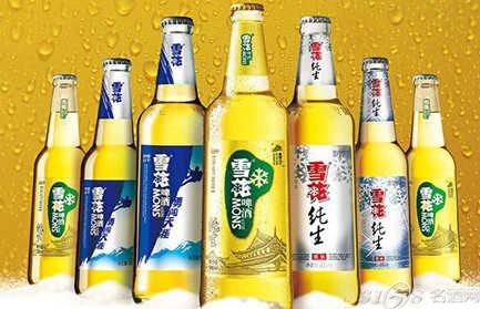 雪花啤酒启用新的,更具特色的标志图片,为华润雪花啤酒在中国啤酒市场