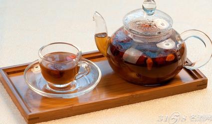 红枣枸杞茶能天天喝吗,红枣枸杞茶什么时候喝好