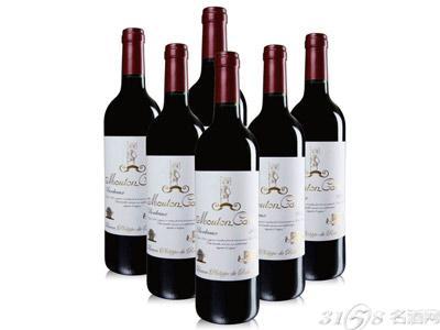 木桐红酒价格表一览