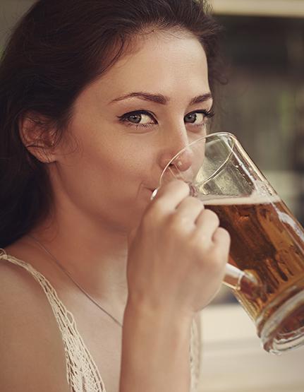 喝啤酒也会上瘾这是为什么