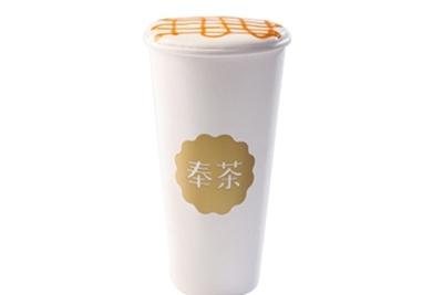 奉茶茶恋花饮品