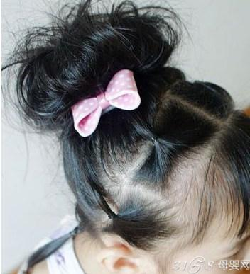 儿童漂亮公主发型扎法_儿童公主发型扎法图片