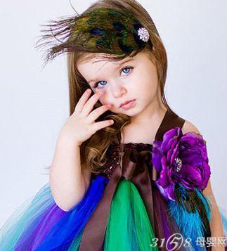 六一儿童节表演发型 让宝宝更出众