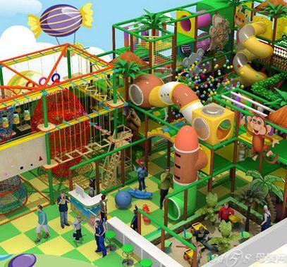开心一乐儿童乐园加盟费