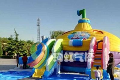 如何经营好一家充气儿童乐园 绚虹充气乐园加盟条件