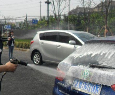 威想实业自助洗车