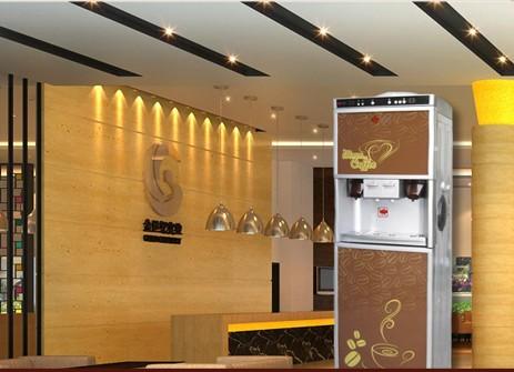 上星咖啡机加盟费店面照片展示