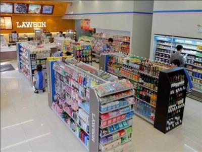 """罗森便利店整个品类结构在围绕""""健康与美""""的前提下进行有效组织,品牌"""