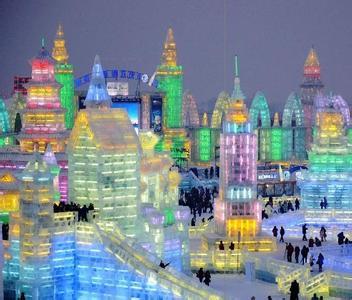 哈尔滨国际冰雪节图片