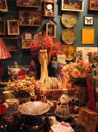 家居饰品店装修风格:欧式古典风格