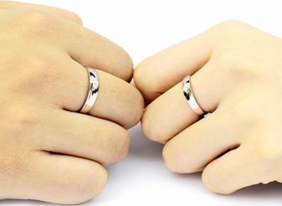 谁知道戒指戴在每个手指上的含义的,告诉一下我吧.图片