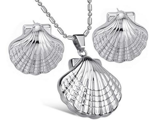 贝壳饰品是软体动物的外套膜