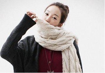 冬季围巾系法你都学会了么