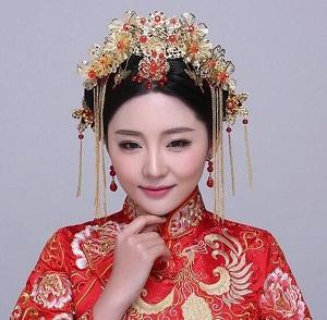 古装新娘造型有哪些款式呢?