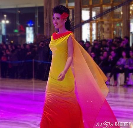 成都小姐最多的地方_国内外名模云集成都—(纽约)国际时装周