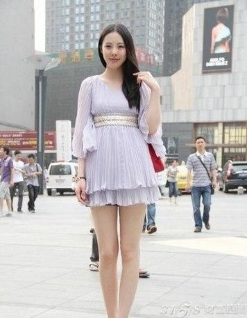 2014成都美女街拍 性感时尚搭配 3158四川分站
