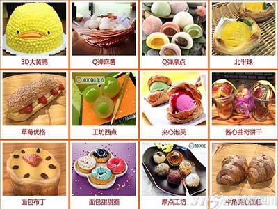 甜品网站功能结构图
