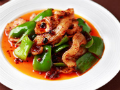 青椒豆豉盐煎肉正宗做法