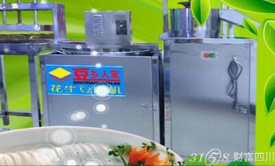加盟豆乡人家豆腐机需要多少钱