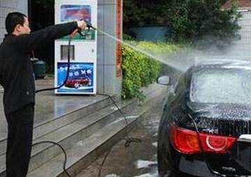 威想实业自助洗车加盟店顾客多不多
