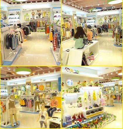 店卖的不仅仅是童装,更是一种产品体验和时尚搭配理念.