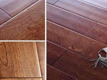 单品导购:打造欧式复古家生活家桦木手刮地板