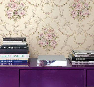 >  壁纸 > 美国wq墙纸玛缇尼系列 为居室略施胭脂水彩   搭配效果