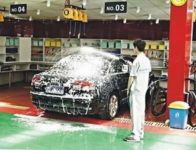 洗车店加盟哪个牌子好 洗车人家全国火爆