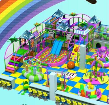 酷贝游乐儿童乐园知名度高的品牌