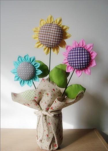 布艺花朵制作方法步骤
