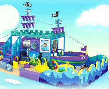 室内儿童乐园品牌加盟就选酷贝游乐