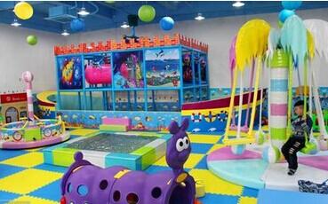 小型室内儿童乐园加盟推荐开心哈乐