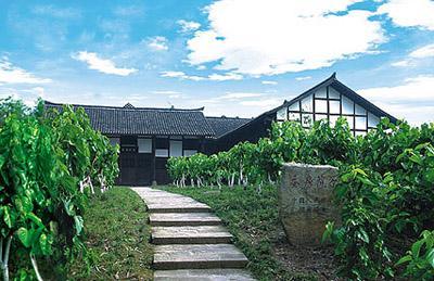 四川广安蚕房院子图片