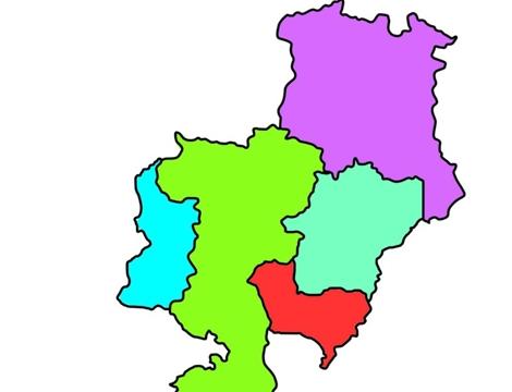 济宁市行政区划示意图-济宁经济技术开发区 崛起在济宁西部的产业新城